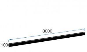 3000mm x 100mm x 20mm Upstands