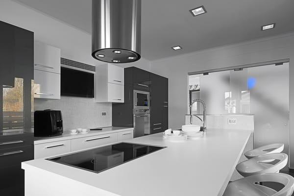 Cameo White kitchen worktop