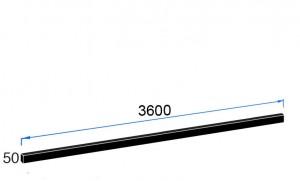 3600m x 50mm x 6mm Upstands