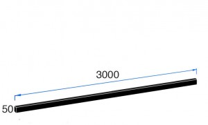 3000m x 50mm Upstand