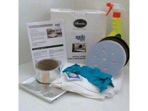 Apollo quicktops Worktops Installation Care & Maintenance Kit