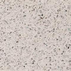 Bianco Stellar coloured kitchen worktop - Silestone Quartz