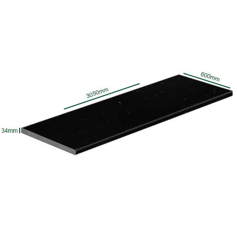 Worktop 3050 x 600 x 34