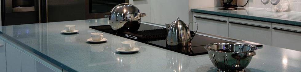 Apollo Quartz Kitchen Worktop Material