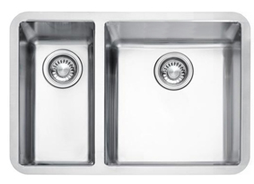 Auxerre 1.5 undermounted stainless steel sink