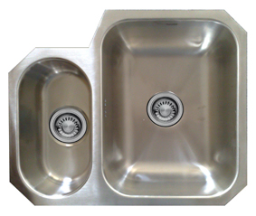 Avignon 1.5 undermounted stainless steel sink