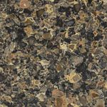 Black Canyon coloured kitchen worktops - Silestone Quartz