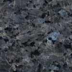 Blue Pearl coloured granite kitchen surfaces
