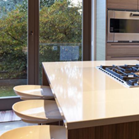 Silestone quartz kitchen worktops suede colour bands essex - Silestone showroom ...