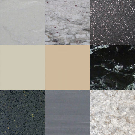 Apollo Magna Solid Surface Kitchen Worktops Colour Bands