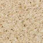 Ivory Coast coloured kitchen worktop surface