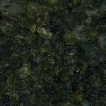 Verde Ubatuba coloured granite kitchen counter top