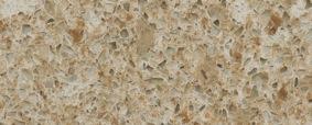 Red Pine kitchen worktop - Silestone Quartz