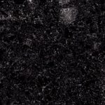 Galaxy Black coloured kitchen worktop surface