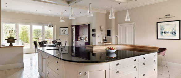 kitchen worktops and doors to match