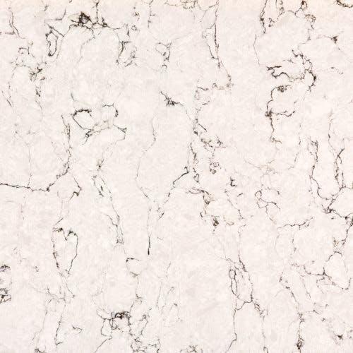 White Arabesque coloured kitchen worktop surface