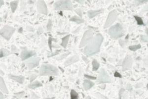 White Diamond kitchen worktop - Silestone Quartz